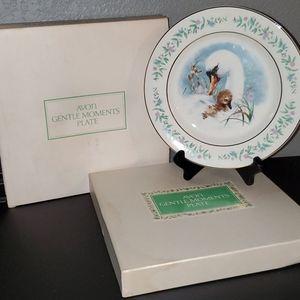 Vintage 1975 Avon Gentle Moments Plate